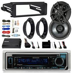 Kenwood KMRD372BT Stereo Bluetooth Receiver W/ Dash Kit Bund