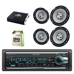 Kenwood Single Din CD/AM/FM Car Audio Receiver W/Bluetooth w