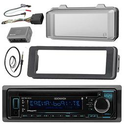 Kenwood Stereo CD Receiver Radio - Bundle with Installation