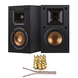 Klipsch R-15M Reference Bookshelf Monitor Speaker  + 16 AWG