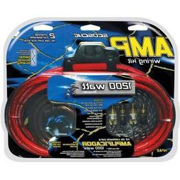 Scosche KPA6 1200W 6-Gauge Car Amplifier Install Kit