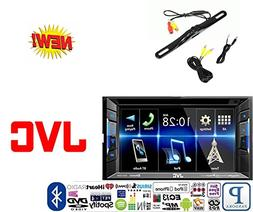 JVC KW-V130BT Double DIN Bluetooth in-Dash DVD/CD/AM/FM Car
