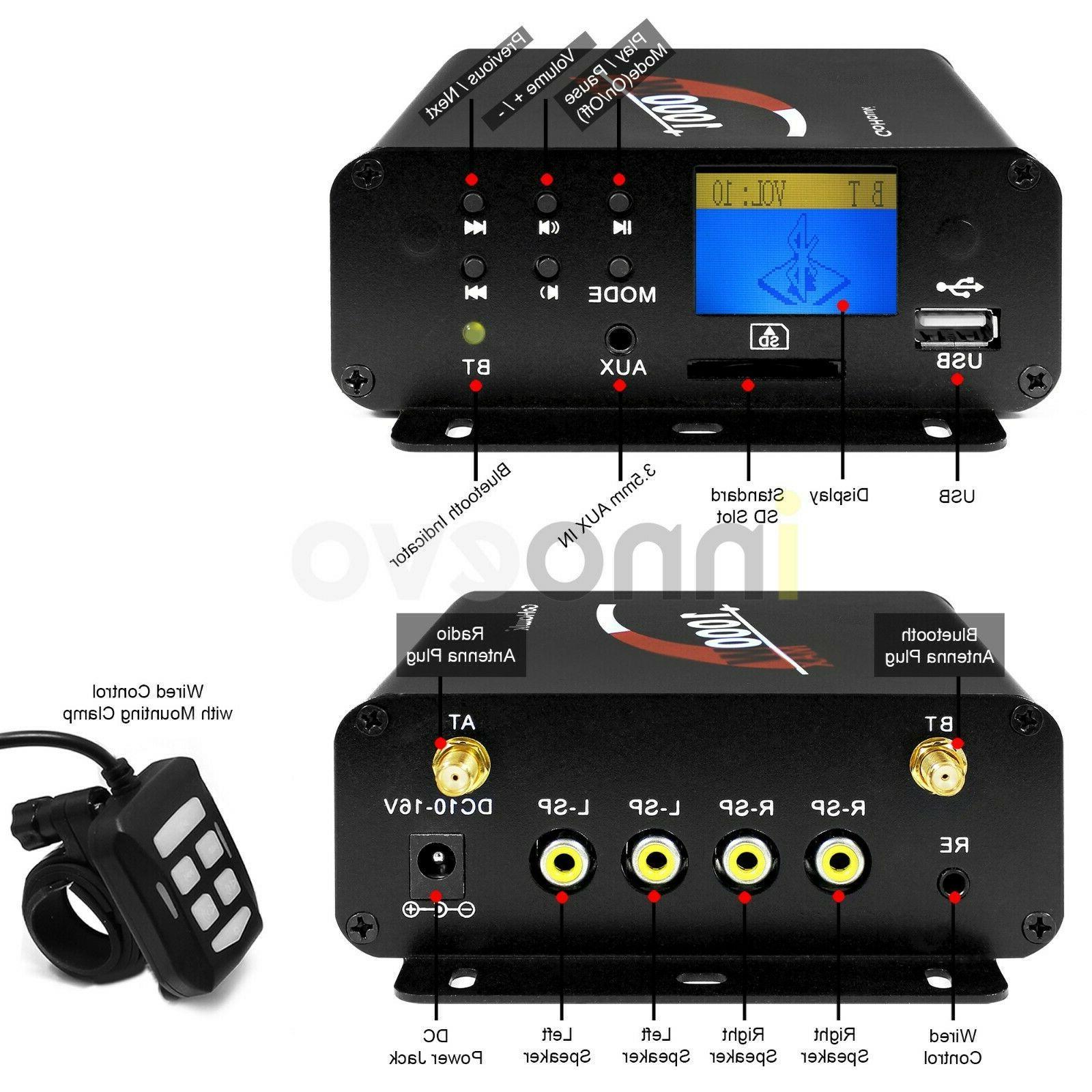 1000W Bluetooth ATV Stereo
