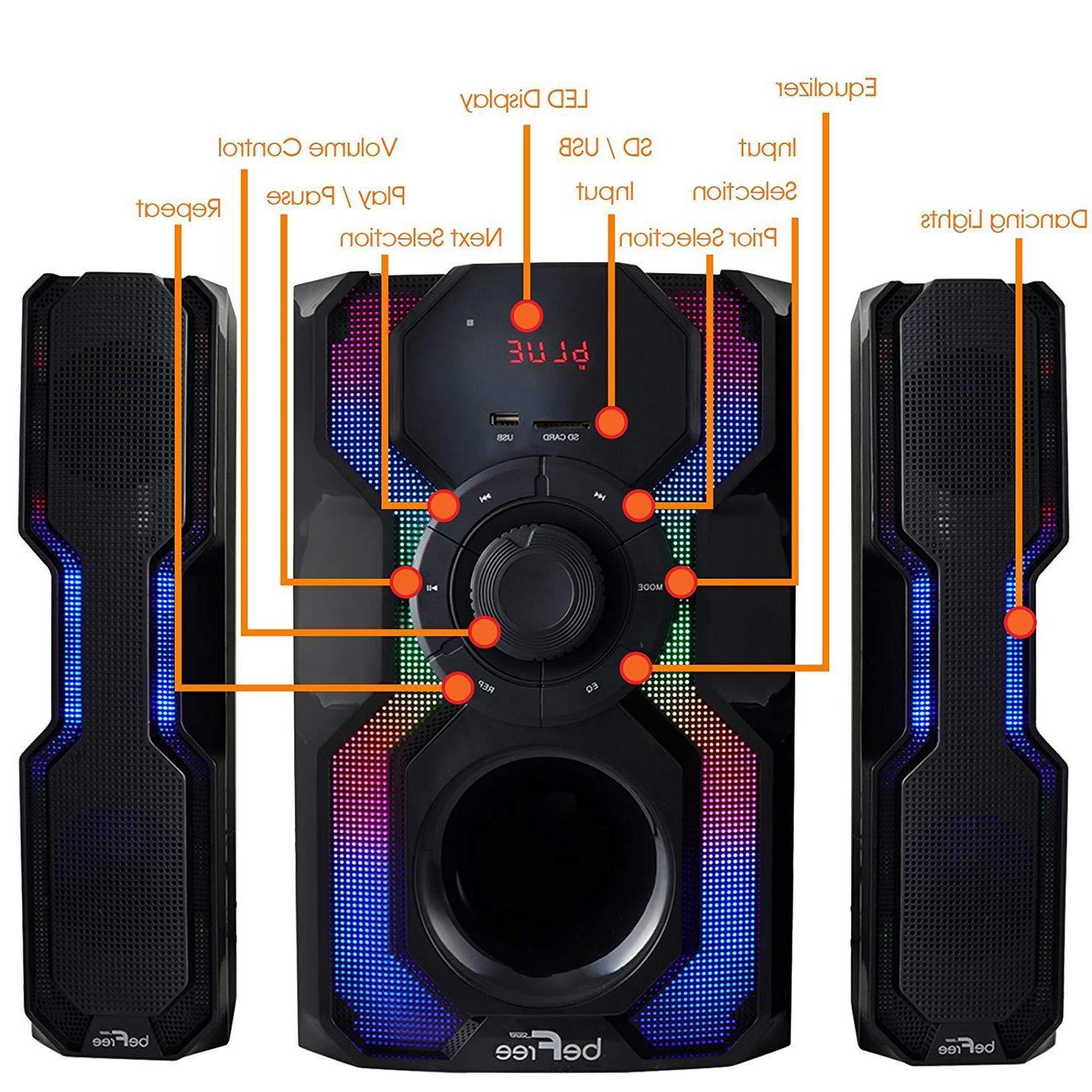 BEFREE SOUND CHANNEL BLUETOOTH SYSTEM with USB