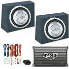 "2) BOSS AUDIO CX122 12"" 1400W Car Subwoofers + Sealed Boxes"