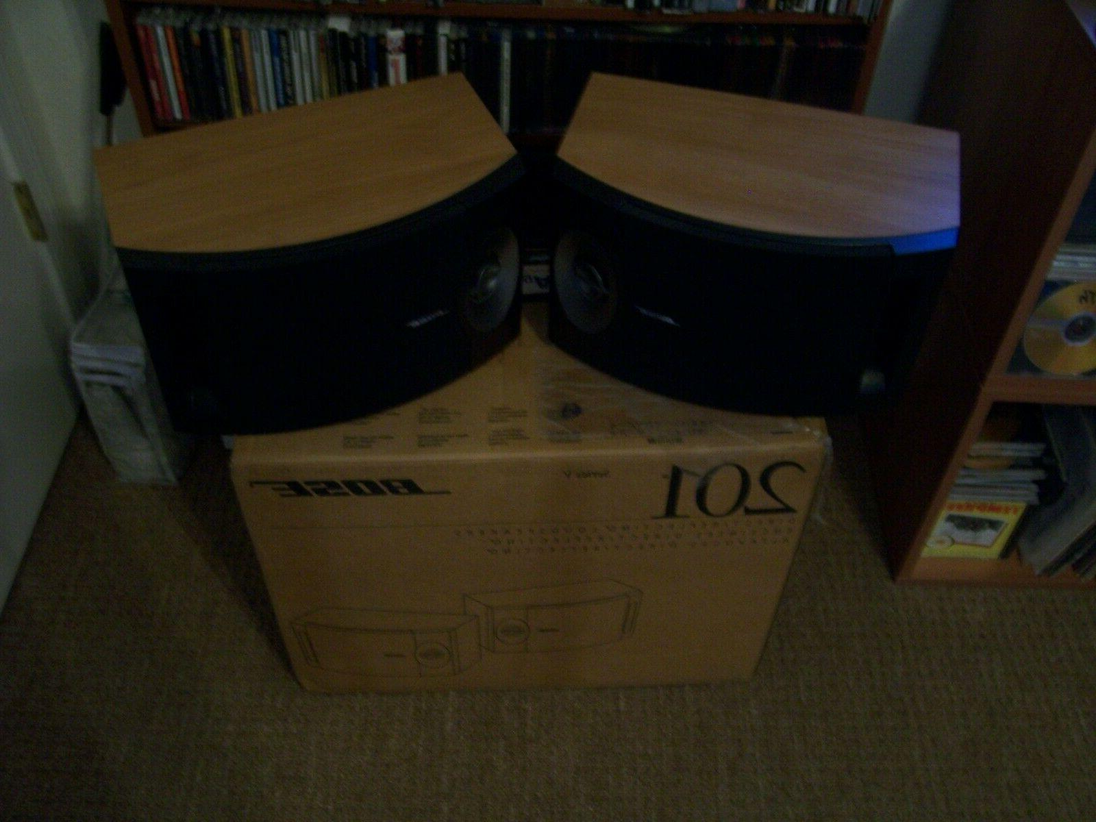 Bose 201 Series V Direct/Reflecting Speaker System Light Che