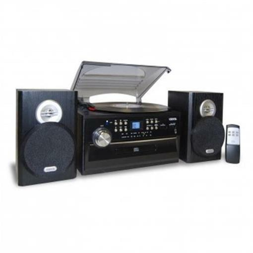 3 speed stereo turntable with cd system