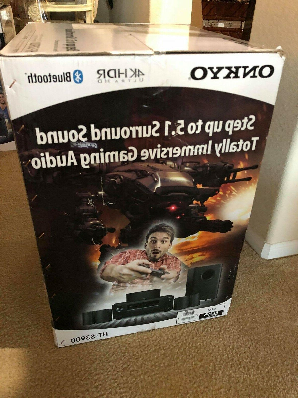 Onkyo 5.1-Channel Home Theater Speaker Package with 4k Ultra