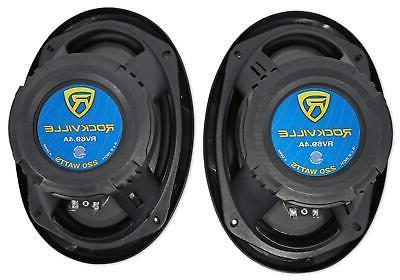 6x9 4 Audio Speakers Stereo Power System