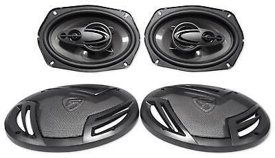 6x9 4 Way Audio Speakers Stereo System