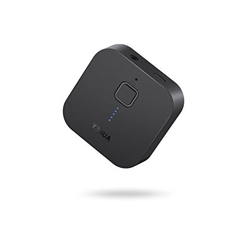 AUKEY Bluetooth Receiver V4.1 Wireless Audio Music Adapter A2DP with Hands-free