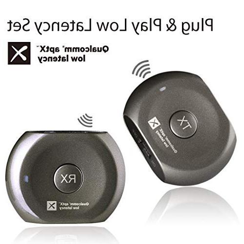 4c859ad88ba Avantree Lock Portable Pre-paired aptX LOW LATENCY Bluetooth