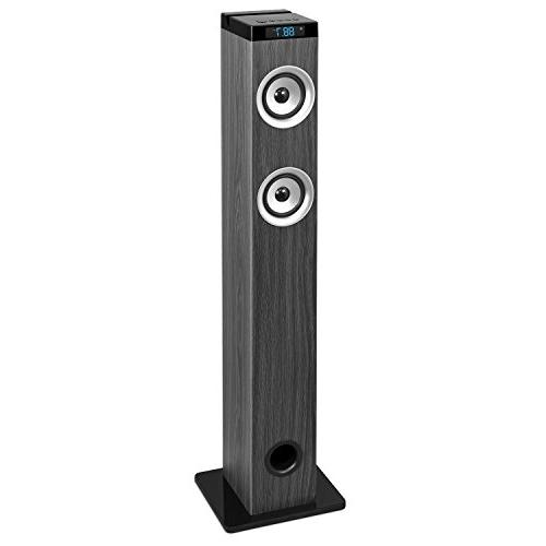 Innovative Technology 40-in Tall Tower Bluetooth Stereo Syst