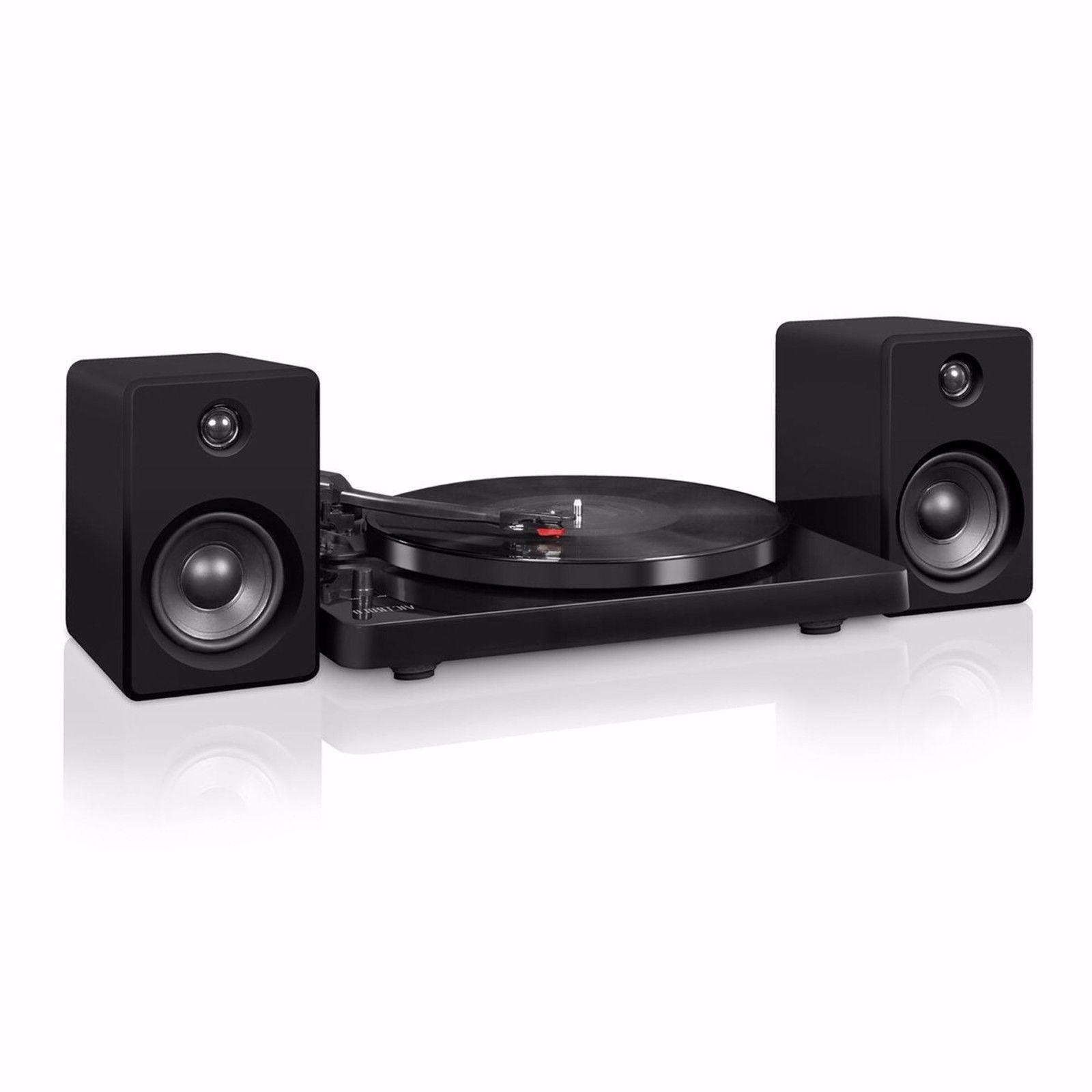 Stereo Audio System High-gloss Black