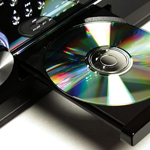 JENSEN JTA-475B 3-Speed Turntable CD Cassette, and AM/FM Radio
