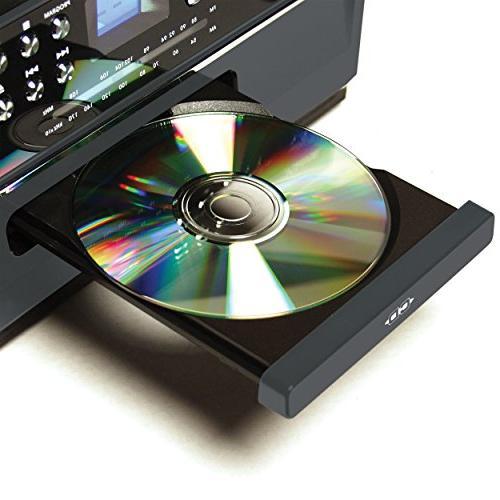 Jensen Music Entertainment Edition JTA475G with Front CD Player Cassette ,Aux Headphone