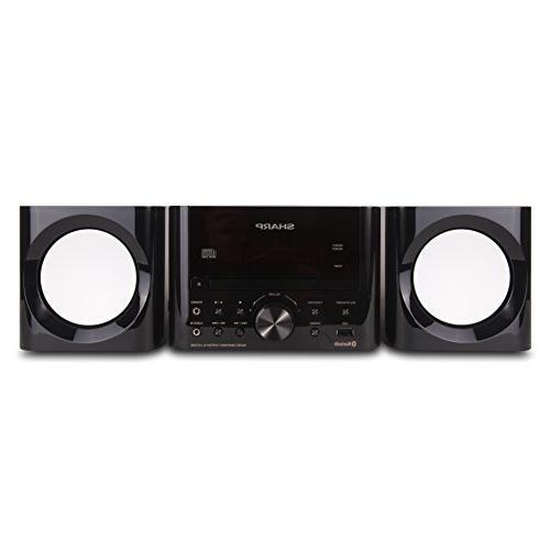 Sharp - 50w Micro System - Black