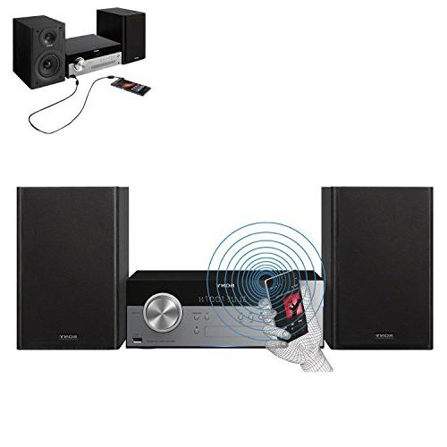 Sony All Stylish Micro System with Streaming NFC , CD Player AM/FM Tuner + + Aux Cable + Cleaning Cloth