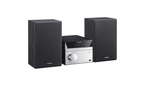 Sony Hi-Fi Sound System with Bluetooth Wireless Streaming Player, AM/FM Mega Boost, & Charge, Control