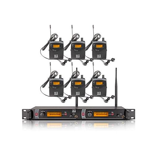 Top Quality!! Xtuga RW2080 In Ear Monitor System 2 Channel 2