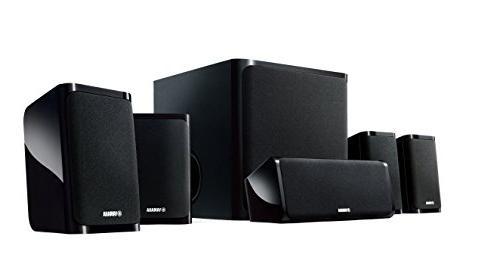 Yamaha NS-P40BL 5.1-channel Speaker System Black