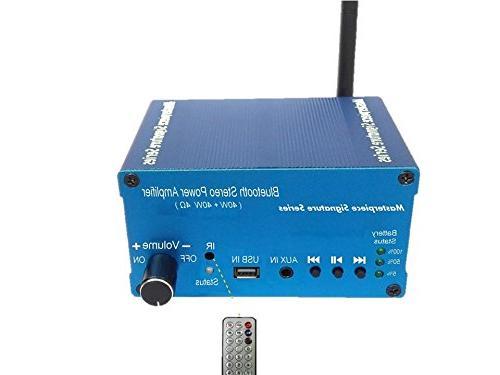 amplifier bluetooth audio component