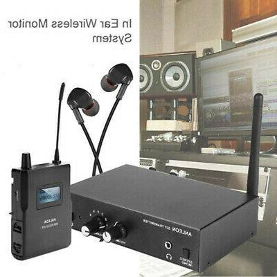 ANLEON S2 Wireless Stereo In Ear System Transmitter Receiver Set