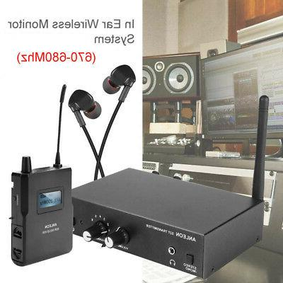 ANLEON S2 UHF Wireless In-ear Stereo Monitor System Inlcude