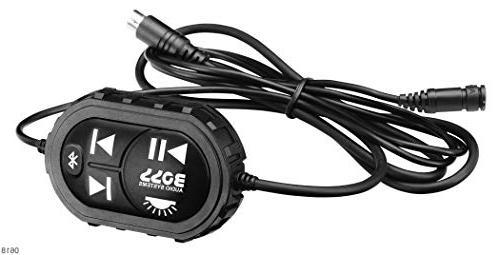 BOSS ATVB95LED Amplified, ATV/UTV Weather-Proof Marine Grade, Bluetooth Remote, Volt Friendly