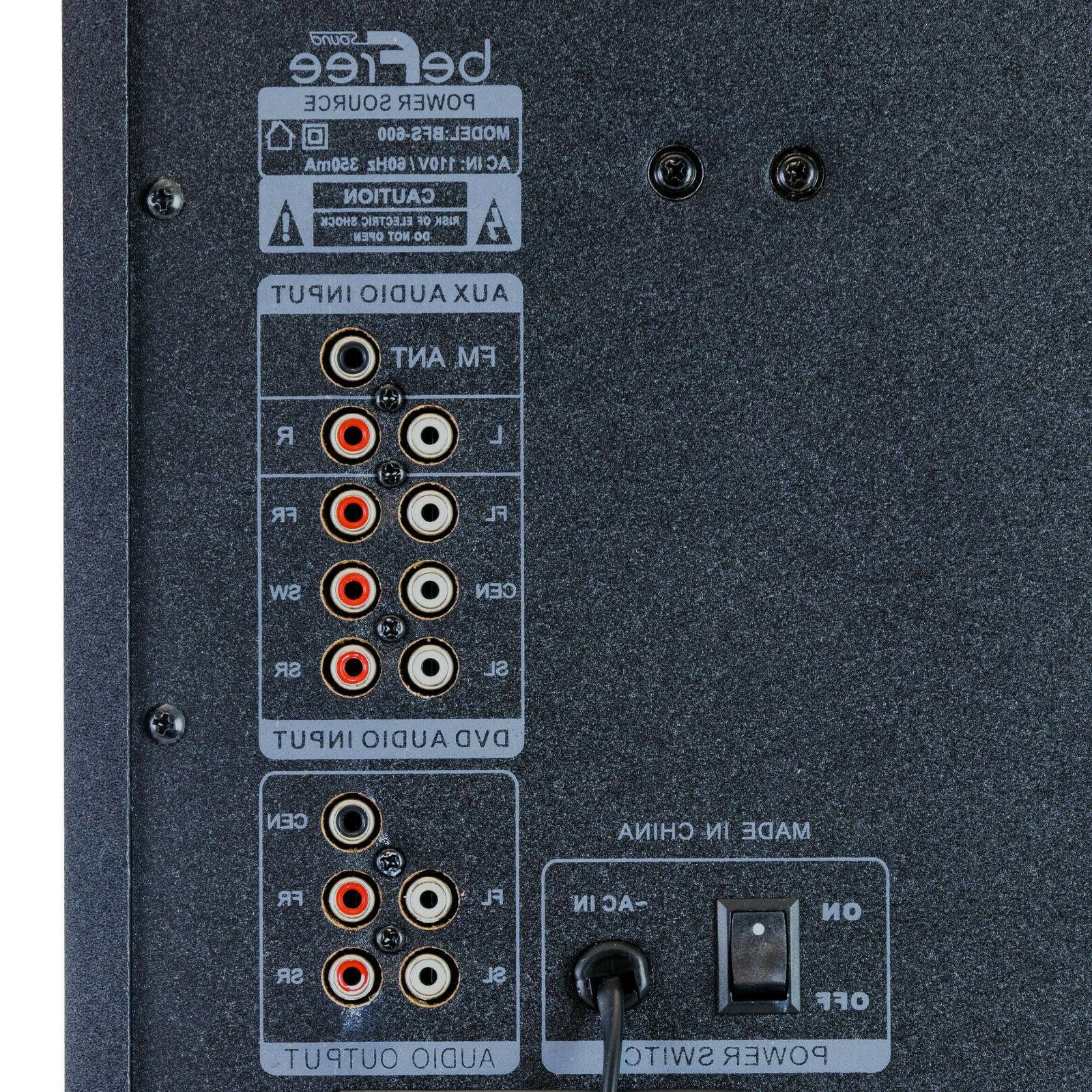 BEFREE SURROUND SPEAKER RED/BLACK USB BFS-600