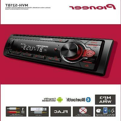 Pioneer Bluetooth Car Stereo Receiver AM/FM Radio Audio Syst