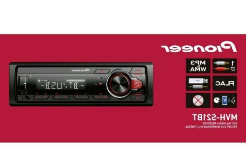 Pioneer Bluetooth Car Stereo Receiver System Radio Indash