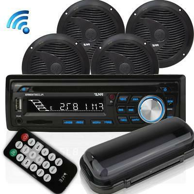 bluetooth marine audio stereo kit