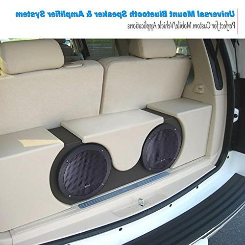 Flush System Amplified Stereo Dome Universal Vehicle 3.5mm 240 Watts