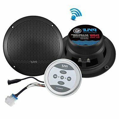 bluetooth marine grade flush mount
