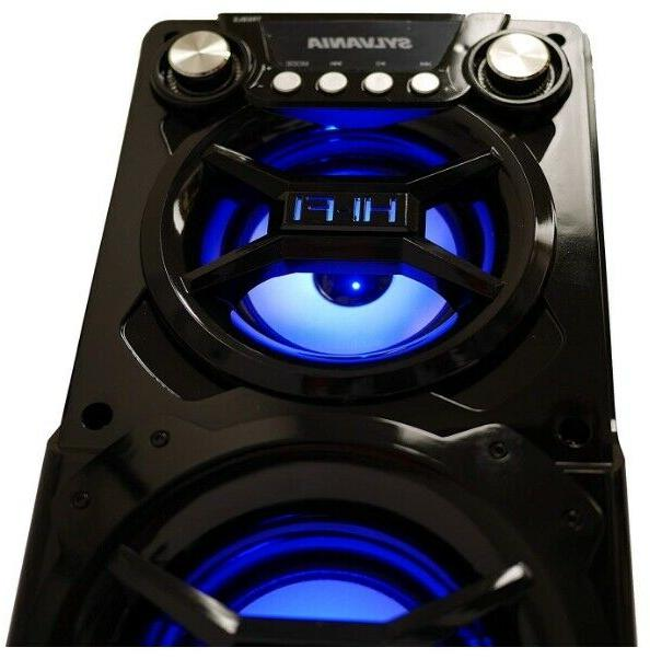 Bluetooth Party Speaker Light Tailgate Loud