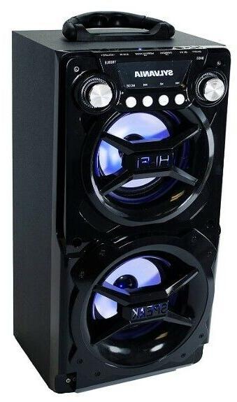 Bluetooth Speaker Big LED Light Up Tailgate Loud