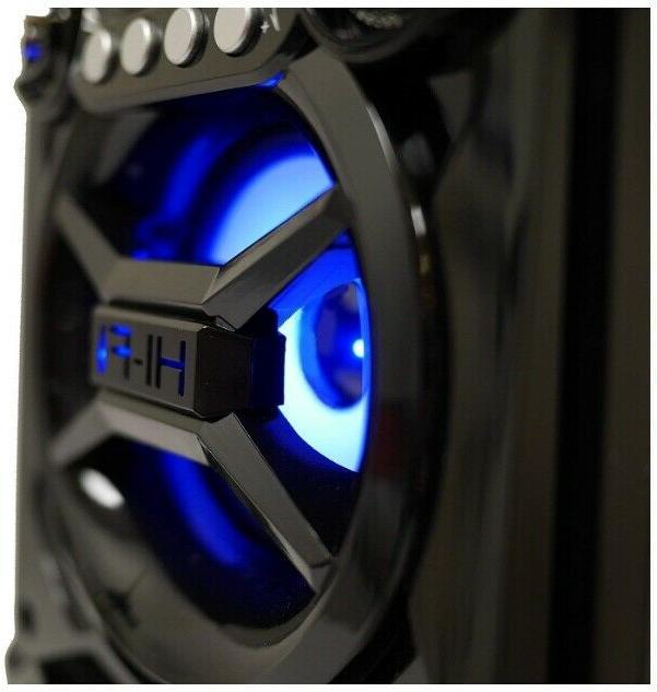 Bluetooth Big LED Portable Light Up Tailgate Loud
