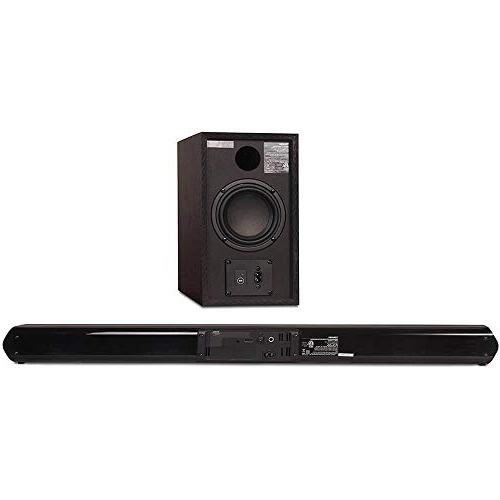 Toshiba 2.1 Bluetooth Subwoofer, HDMI CEC, and USB Remote Control