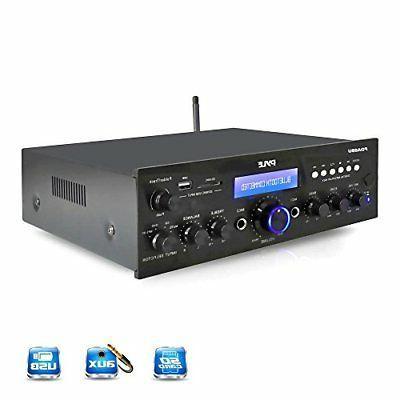 Bluetooth Stereo Amplifier Home 200 Watt