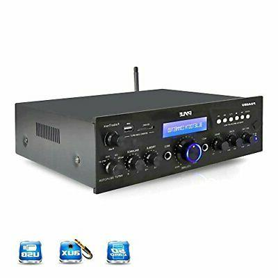 bluetooth stereo amplifier receiver w wireless streaming