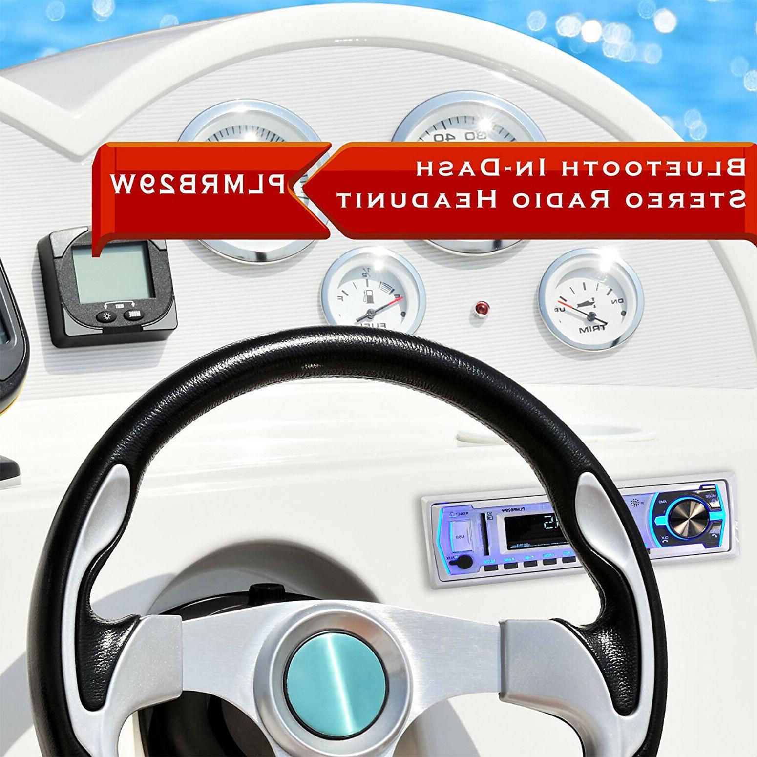 Bluetooth Boat Marine AM FM System MP3