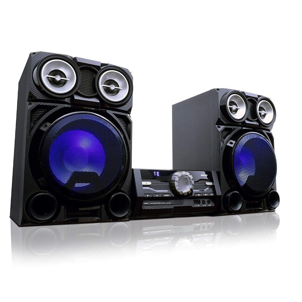 Bluetooth Stereo Sound System Mini Home Speaker Lights