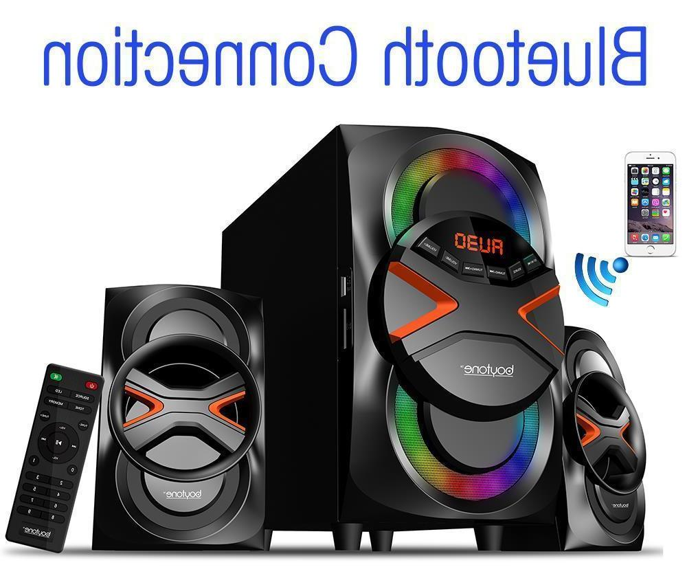 boytone System - 60 RMS - Wireless Speaker - 40 Hz - 20 - - Bluetooth - FM Radio, MP3 Player