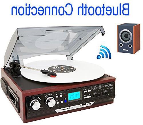 bt c bluetooth stereo turntable