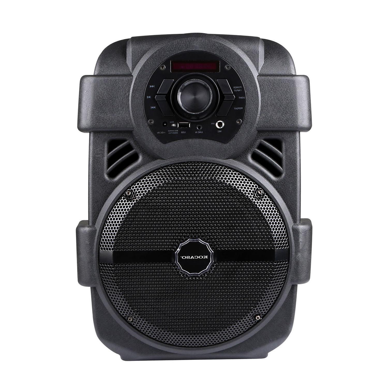 BT Speaker Bluetooth Led Portable Stereo Tailgate Mic