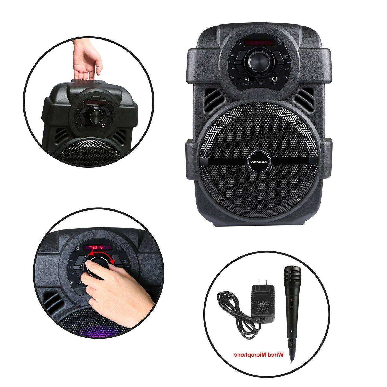 BT Speaker System Bluetooth Big Stereo Mic