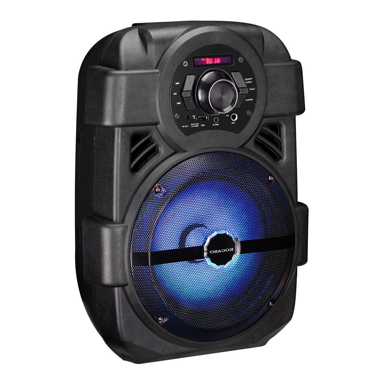 BT System Bluetooth Big Stereo Tailgate Loud w/ Mic