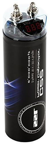 Sound Storm C22 2 Farad Car Capacitor for Energy Storage to