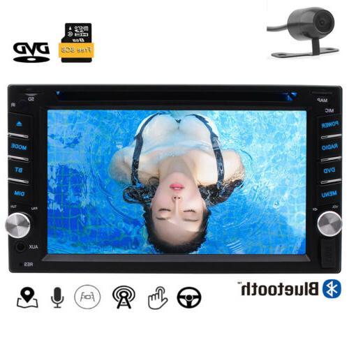 Navigation System Double 2 Din Car CD Player